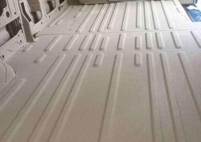 Work Van Interior- Clarion™ Bed Liner - Phoenix Protective Coating