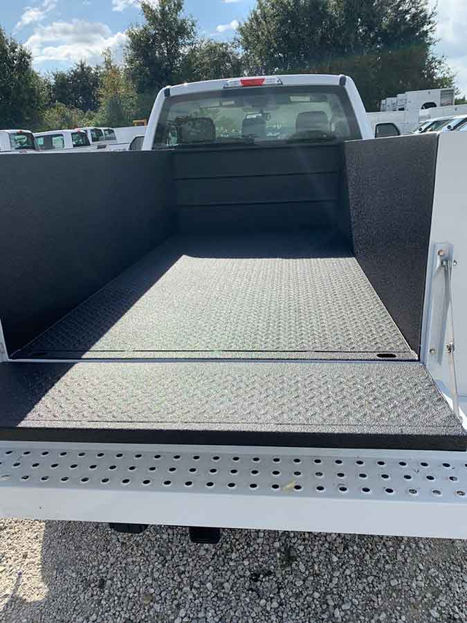 Utility Body- Guardian™ Bed Liner - Phoenix Protective Coating