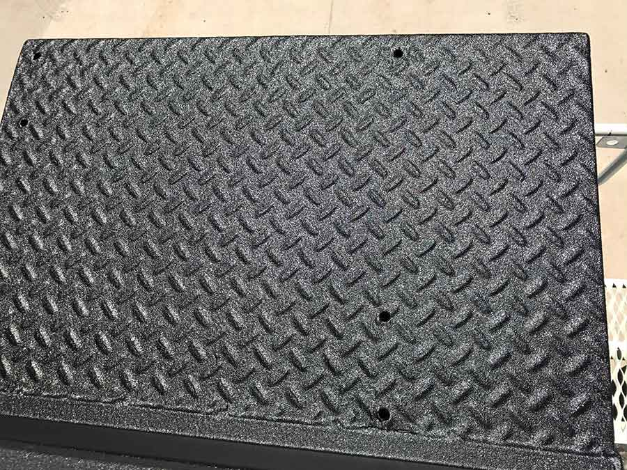 UTB Step Plate- Guardian™ Bed Liner - Phoenix Protective Coating