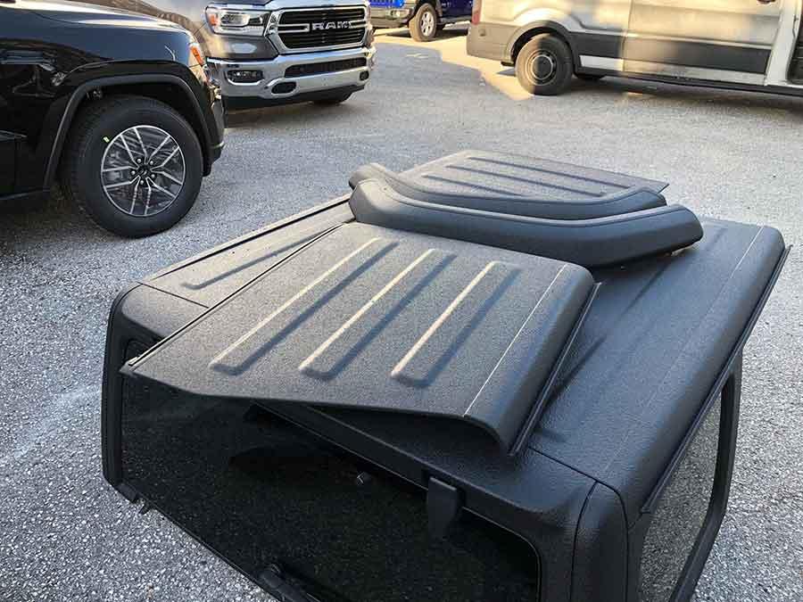 Coated Jeep Accessories - Guardian™ Bed Liner - Phoenix Protective Coatings