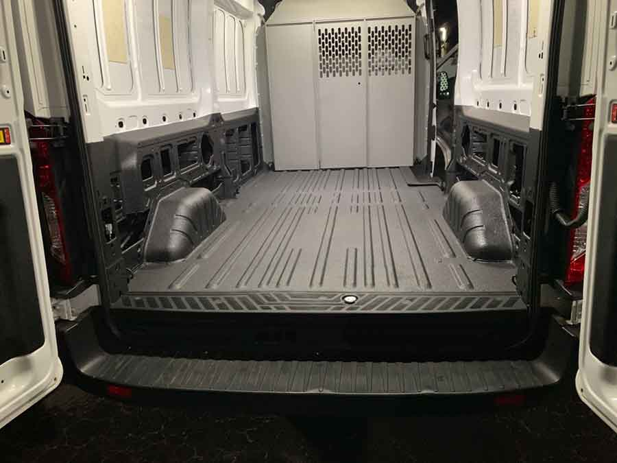Work Van Interior- Guardian™ Bed Liner - Phoenix Protective Coating
