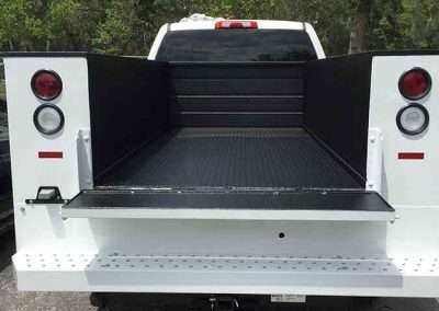 Utility Body - Guardian™ Bed Liner - Phoenix Protective Coatings
