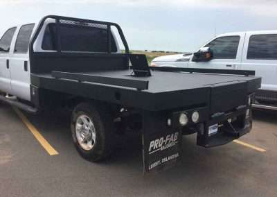 Flatbed - After Coating w Guardian™ Bed Liner - Phoenix Protective Coatings