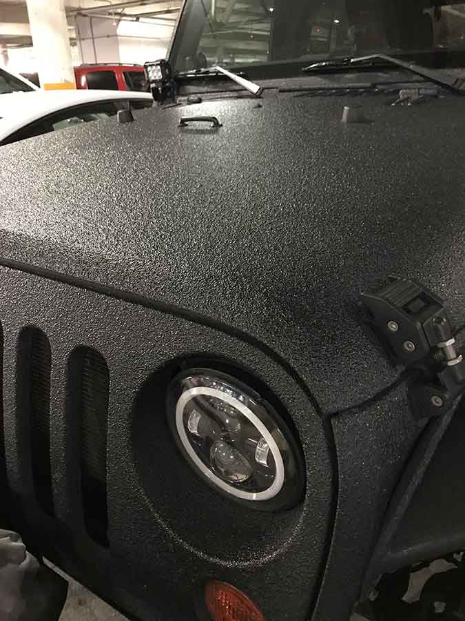 Guardian™ Bed Liner - Full Body Protection, Jeep - Phoenix Protective Coatings
