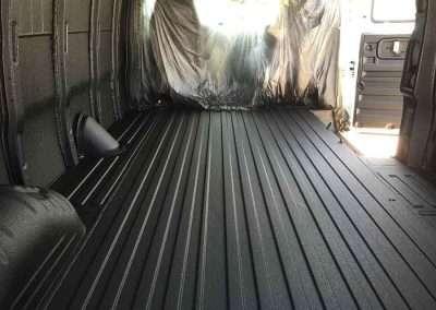 Work Van Interior- Guardian™ Bed Liner - Phoenix Protective Coating