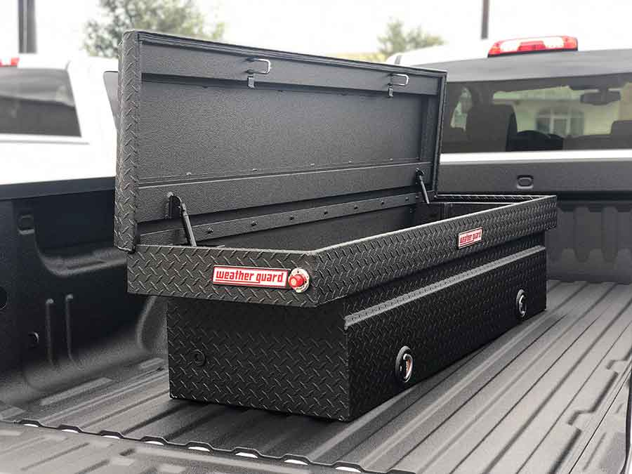 Coated Tool Box - Guardian™ Bed Liner - Phoenix Protective Coatings