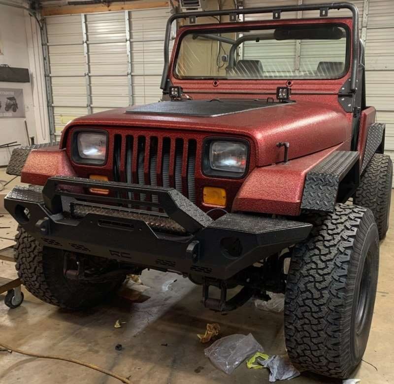 Chroma Protective Coating on Jeep